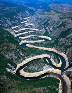 Tara River Canyon: longest canyon in Montenegro @ 50-mi: the deepest river canyon in Europe @ 4265-ft: protected as a part of Durmitor NP