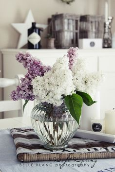 BELLE BLANC - beautiful Lilacs