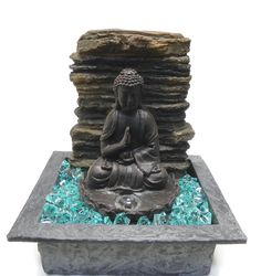 An excellent tip is to place a Feng Shui water fountain near the front door. This will invite wealth and prosperity.  Click for more water fountain tips!