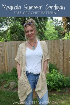 Crochet Shrug Pattern Free, Easy Crochet Patterns, Free Crochet, Free Pattern, Knit Crochet, Crochet Sweaters, Easy Crochet Shrug, Knitting Patterns, Crochet Shrugs