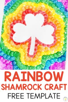 Need some rainbow inspiration for St Patricks Day in the classroom? Check out these fun St Pattys crafts, literacy, math, and sensory activities that are perfect for toddlers, preschool, and kindergarten students. Free template and step by step directions Sensory Activities, Preschool Crafts, St Patricks Day, Literacy, Kindergarten, Preschool, Kindergartens, Preschools, Kindergarten Center Organization