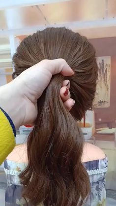 hairstyles for long hair videos Hairstyles Tutorials Compilation 2019 Part 251 Hair Style Girl party hair style girl Little Girl Hairstyles, Pretty Hairstyles, Braided Hairstyles, Short Hairstyles, Fringe Hairstyle, Hair Upstyles, Wedding Guest Hairstyles, Wedding Hair, Long Hair Video