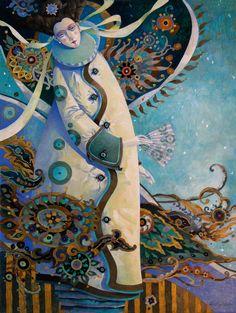 the cosmic stroll by artmeister on Etsy, David Galchutt - art Meister