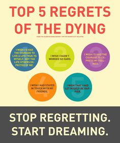 Higher Perspective: Top 5 Regrets Of The Dying