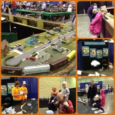 The Great Rivercentre Train Show.  This is going to be a new annual tradition in our family.