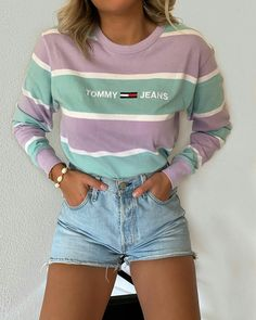 10 more fashion outfits trendy 2019 & & tenues de mode à la mode 2019 2020 Stylish Outfits, Fall Outfits, Summer Outfits, Good Outfits, Cute Concert Outfits, Spring Outfits For Teen Girls, Cute Outfits With Shorts, Purple Outfits, Teen Fashion