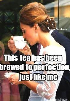 Tea & Kate Middleton