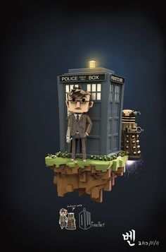 Awesome Minecraft Doctor Who Art!