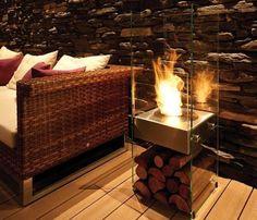 Ecosmart Fire Ghost Ventless Fireplace Portable Fireplace, Home Goods Decor, Home Decor, Beton Design, Freestanding Fireplace, Wood Houses, Fireplace Design, Fireplace Ideas, Bedroom Fireplace