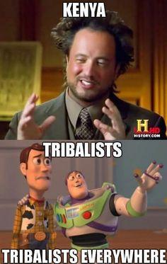 Tribalists, Tribalists Everywhere