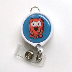Heart ID Badge Reel – The Official Awkward Yeti Store - theAwkwardStore.com