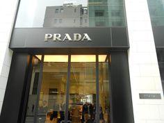 Prada store front in Washington