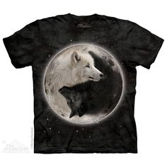 The Mountain Yin Yang Wolves T-Shirt $22.00 Use code: NWC15 for 15% off. The Mountain T-shirts.
