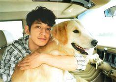 瑛太eita and dog