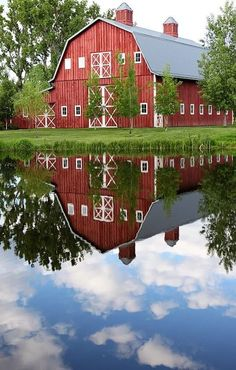 Barn reflection
