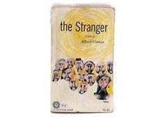The Stranger by Albert Camus Mass Market Paperback 1946  Vintage French Literature Book Philosophy Existentialism
