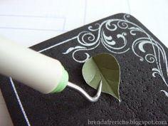 Creating a leaf  brendafrerichs.blogspot.com