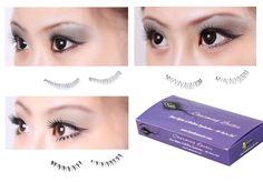 Bundle Monster 40 Pair Black Soft Lower Bottom False Eyelashes - 4 Style Set