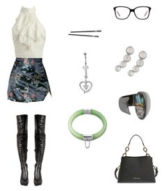 """20170301"" by olivianakamura ❤ liked on Polyvore featuring Wet Seal, O-Mighty, MICHAEL Michael Kors, Oakley, Lucky Brand and Robert Lee Morris"