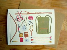 What To Pack Card (Box Set of 8). $16.00, via Etsy.