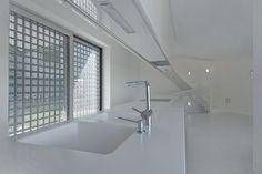 Cucina Total White  #corian #laccatopoliestere #studiodesign_meda