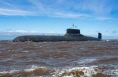 "Ballistic missile submarine ""Dmitry Donskoy"" Project 941"