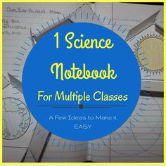 Interactive Notebooks and Departmentalized Teachers-- tips to make it easy for you!