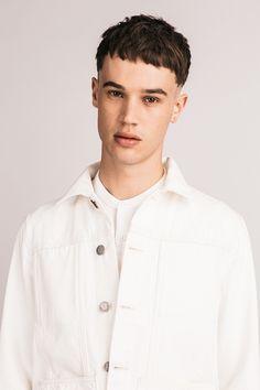 Bethnals #SS16 - The Alfie Western Jacket in white.  #unisex #genderneutral #unisexfashion #unisexstyle #londonuniform #denim #denimtrends #denimfashion #indigo #denimlovers