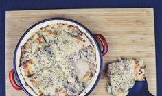 Mushroom Pie, Quiche, Stuffed Mushrooms, Meals, Cooking, Breakfast, Food, Stuff Mushrooms, Kitchen