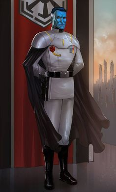 Star Wars: Edge of the Empire by on DeviantArt Star Wars Characters Pictures, Images Star Wars, Star Wars Pictures, Star Wars Concept Art, Star Wars Fan Art, Sith, Grande Almirante Thrawn, Thrawn Star Wars, Grand Admiral Thrawn