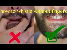 How to whistle REALLY loudly using your fingers. This is the best explanation. Survival Life Hacks, Survival Tips, Survival Skills, Simple Life Hacks, Useful Life Hacks, How To Wistle, Whistle With Fingers, How To Whistle Loud, 1000 Life Hacks