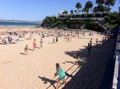 Las Palas, sport typique sur les plages de Santander