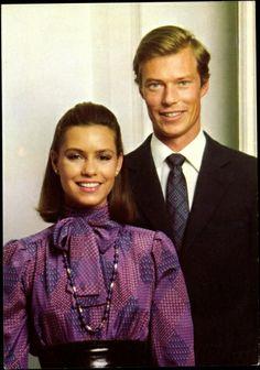 grand duchess maria teresa and grand duke henri of luxembourg   early 1980's| Tumblr