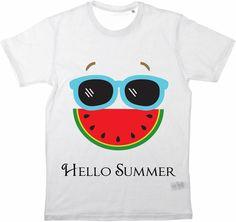 Kinder T-Shirt Hello Summer von MilaLu auf DaWanda.com