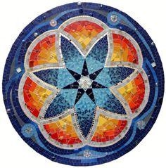 Artista: Fernanda Jaton y los mándala en mosaicos.