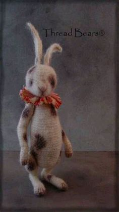 Spotted Hare/Threadteds/Sue Aucoin/ebay