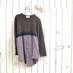 med - xlarge - funky dress / Eco Dress / Tattered Artsy Dress / Upcycled Clothing by CreoleSha