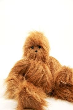 Sasquatch Handmade Huggable Made to Order Teetoo by teetoo on Etsy, $114.99