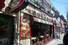 Latin Quarter Montreal Store fronts photo