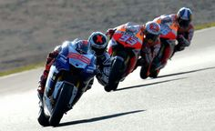 MotoGP. Motegi. After stupid rule change in Phillip Island meant MM lost his big point lead, he lose yet more with JL winning in Japan. It means go to Valencia and last round....