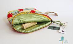Romantische Kulturtasche von Fenix Handmade auf DaWanda.com