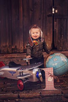 O how time flies, Baby D first birthday photo shoot by Studio 247