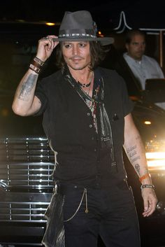 Johnny Depp - Pacific Coast News. He doesn't always look good but when he does, he looks damned good.