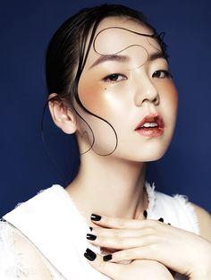 Ahn Sohee Featured in Allure Magazine