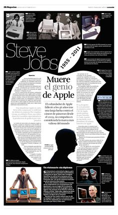 Steve Jobs: muere el genio de Apple #infografia