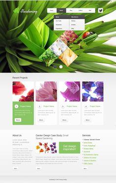 Garden Design #Drupal #Responsive Template via @medosadvert #40774