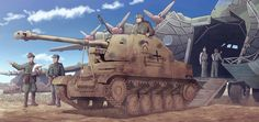 Safebooru is a anime and manga picture search engine, images are being updated hourly. Anime Military, Military Art, Military History, Ww2 Pictures, Manga Pictures, Luftwaffe, Ww1 Tanks, Panzer Ii, Military Drawings