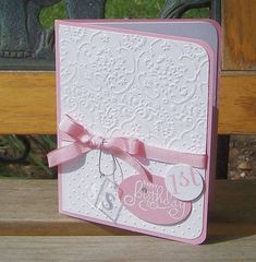 Baby's First Birthday - Girl by durhamzoo - Cards and Paper Crafts at Splitcoaststampers