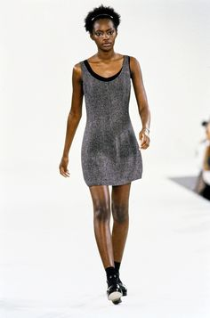 Calvin Klein Collection Spring 1994 Ready-to-Wear Fashion Show - Kiara Kabukuru