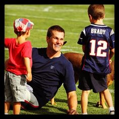 #Brady, the dad. #Patriots